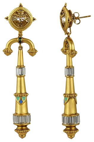 Amrapali Baroque Arc Earrings