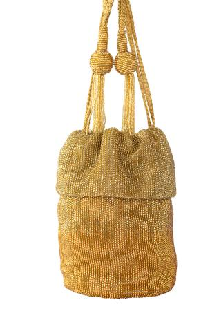 Bead Embellished Bucket potli Bag