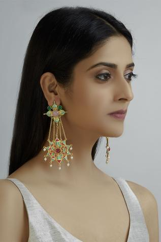 Handcrafted Chandelier Earrings