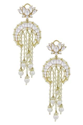 Kundan Crystal Earrings