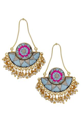 Bead Dangler Earrings