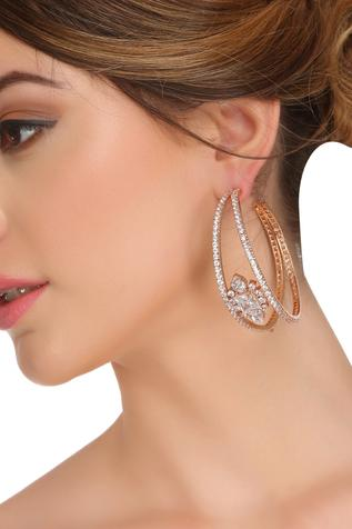 Crystal Hoops