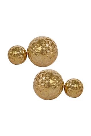 Hammered Barbell Studs