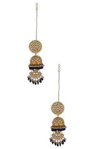 Kundan Long Earrings