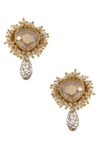 Ashima Leena Crystal Drop Earrings