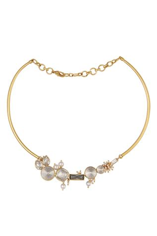 Ashima Leena Crystal Choker Necklace