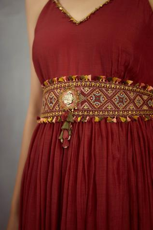 Chanderi Embroidered Belt