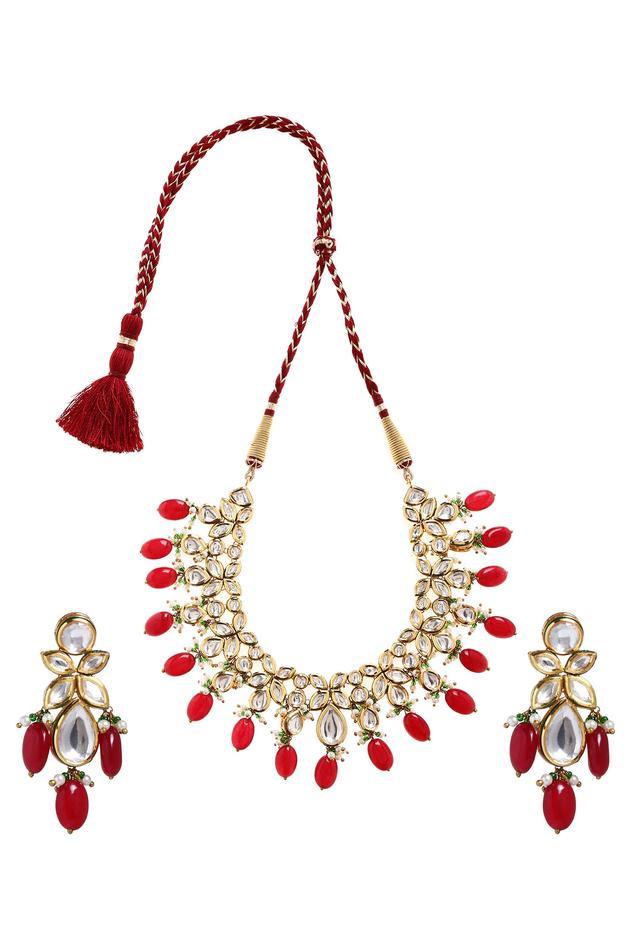 Minaki Kundan Choker Necklace Set