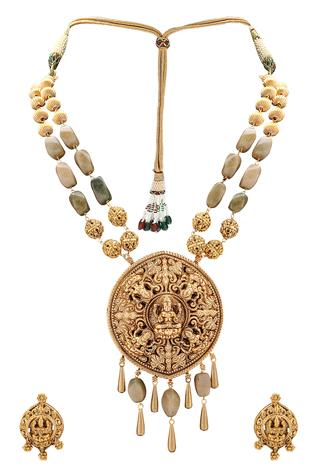 Temple Jewellery Set