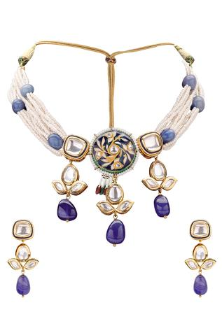 Meenakari Jewellery Set