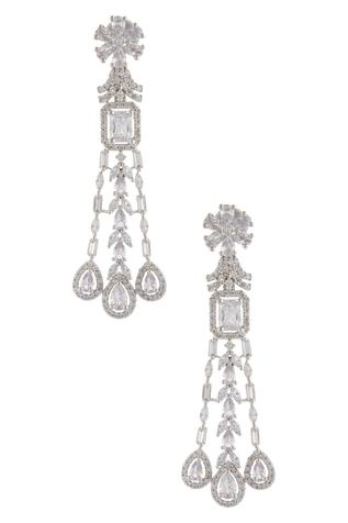 Crystal Dangler Earrings
