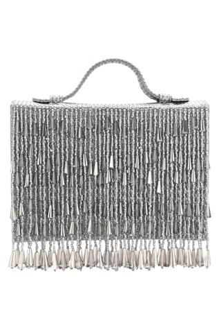 Aanchal Sayal Embellished Flapover Clutch