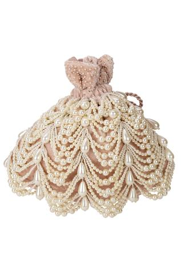 Velvet Embellished Potli Bag
