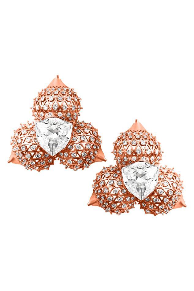 Crystal Stud Earring