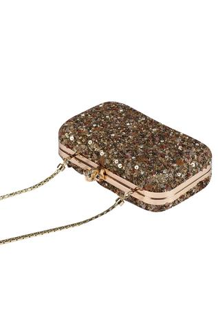 Embellished Box Clutch
