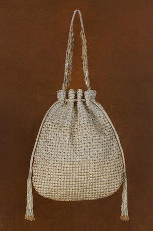 Zoya Crystal Embellished Potli Bag
