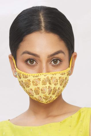 Floral Print Face Mask (Single Pc)