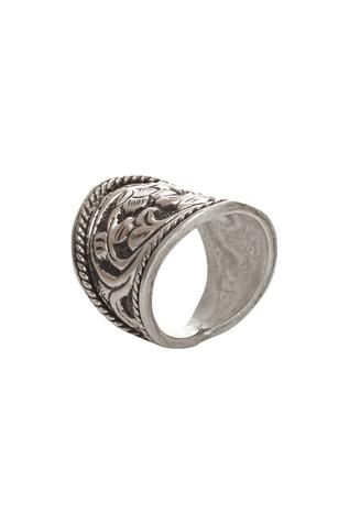 Handmade Carved Ring