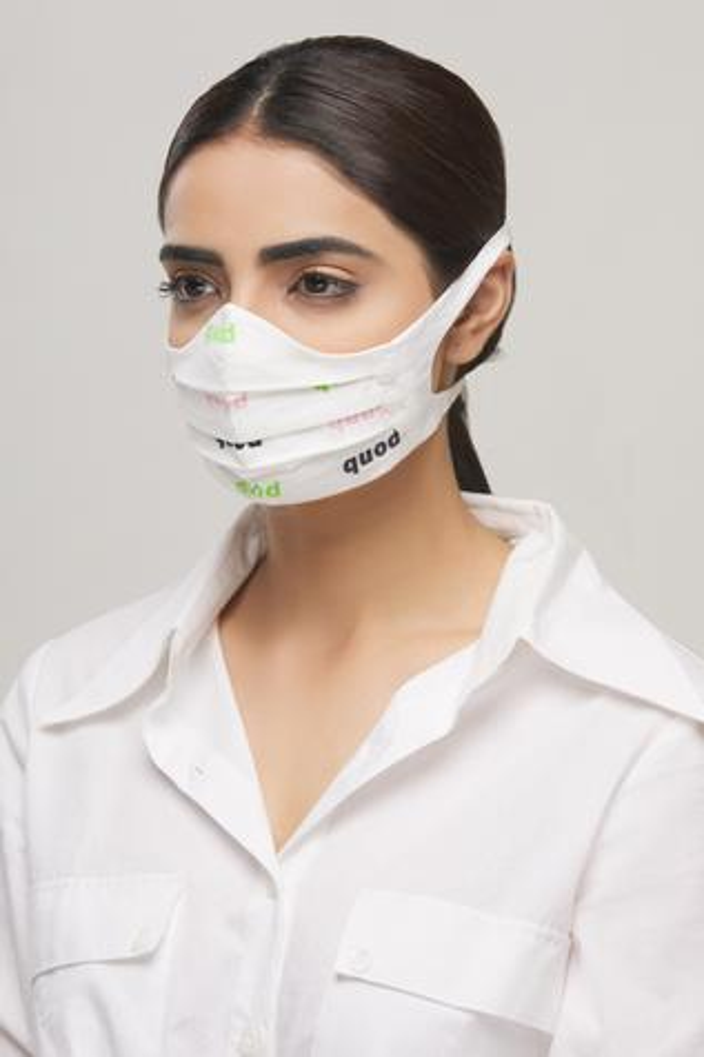 Printed Face Mask (Single PC)