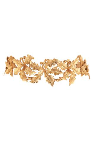 Handcrafted Floral Choker