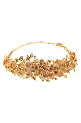 Handcrafted Delicia Floral Choker