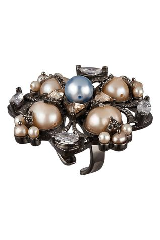 Riviera Bead Floral Ring
