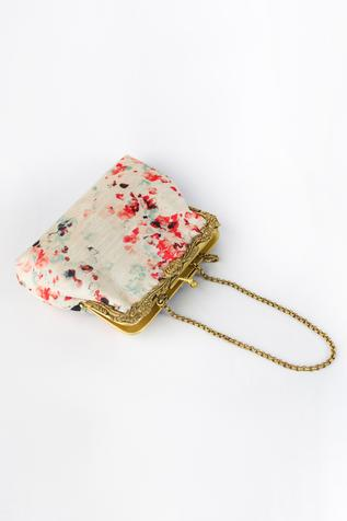 Chita Printed Clutch with Sling