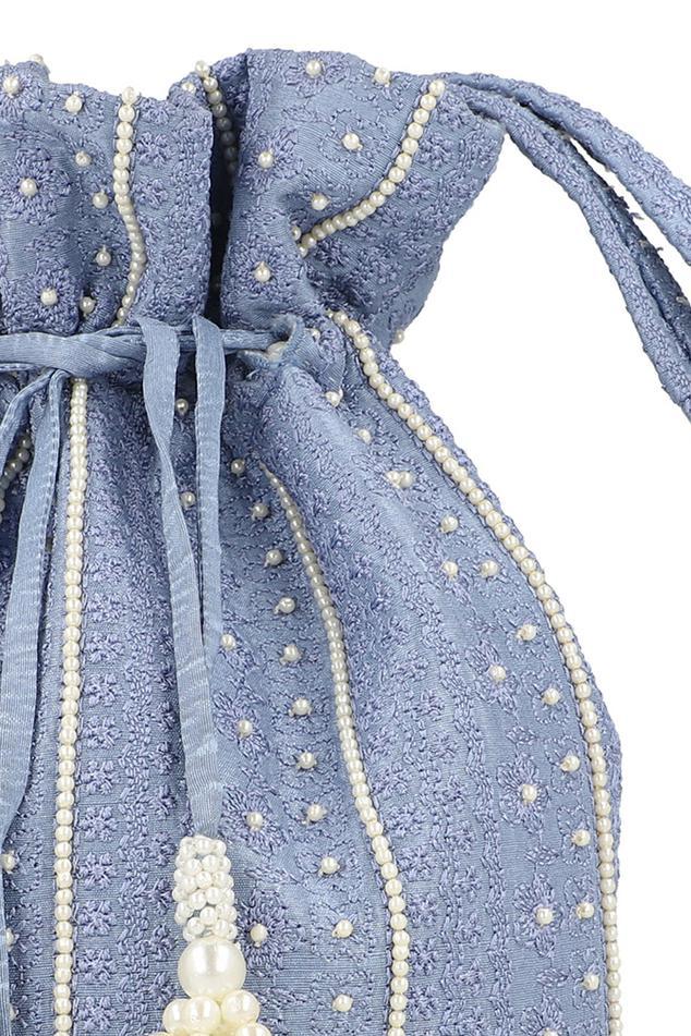 Bead Embroidered Potli Bag