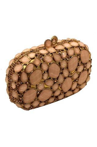 Crystal Clutch with Sling
