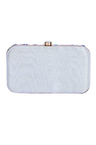 A Clutch Story Silk Sequin Clutch with Sling