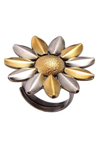 Noor Handcrafted Floral Ring