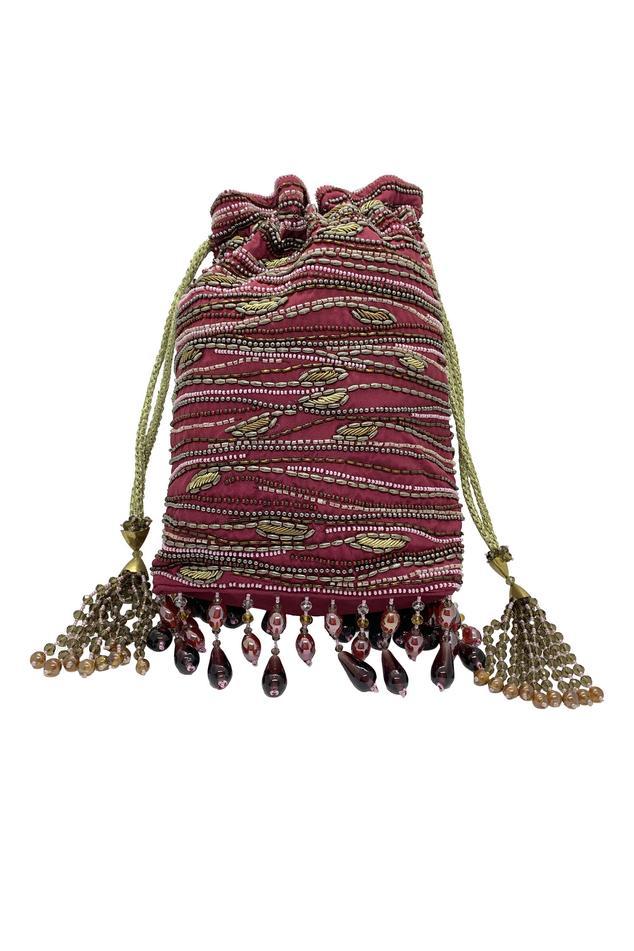 The Garnish Company  Embroidered Potli Bag