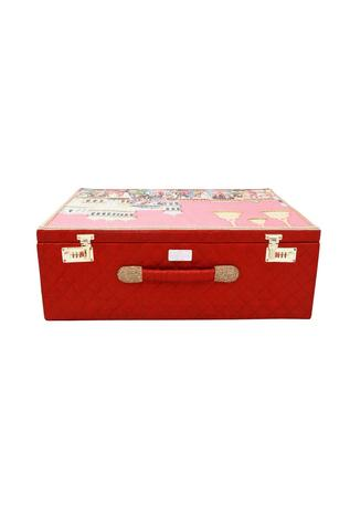 Red & pink mevar mahal trunk