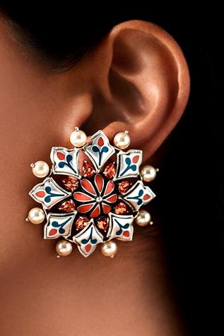Amrapali mughal stud earrings
