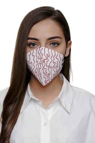 Embroidered Mask (Single Pc)