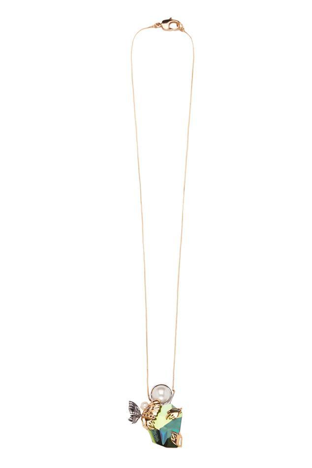 Glasswing Pendant Necklace