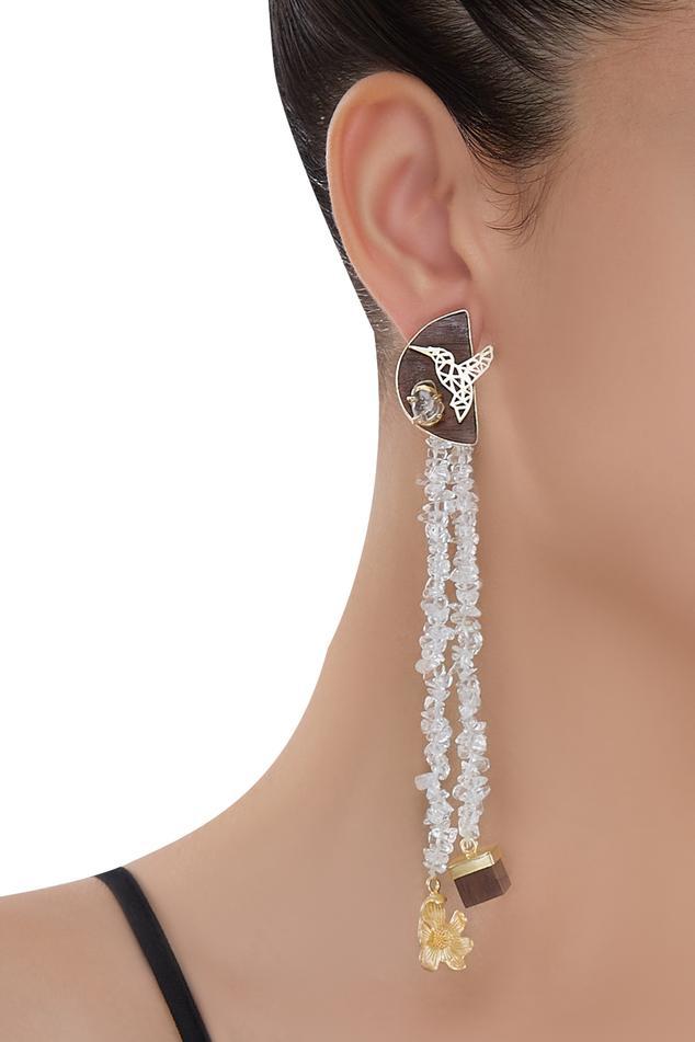Crystal Long Earrings
