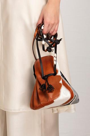 Leather Potli Bag