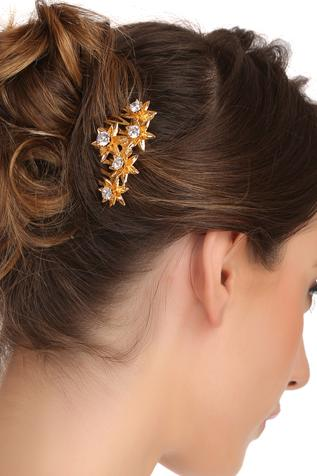 Crystal Hair Comb Pin