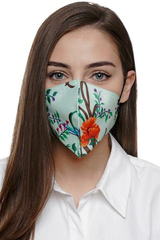 Floral Print Mask (Single Pc)