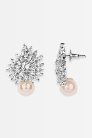 Floral Crystal Studs