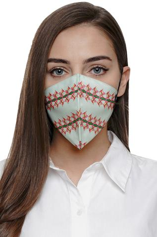 Lily Print Mask (Single Pc)