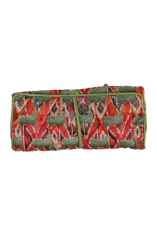 Authentic printed jwellery pouch
