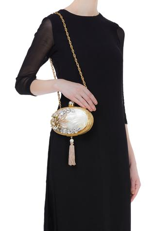 Be Chic Handmade embellished clutch