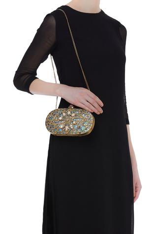 Be Chic Two sided handmade clutch