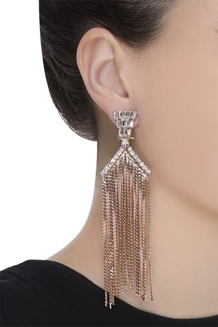 Embellished Long Earrings