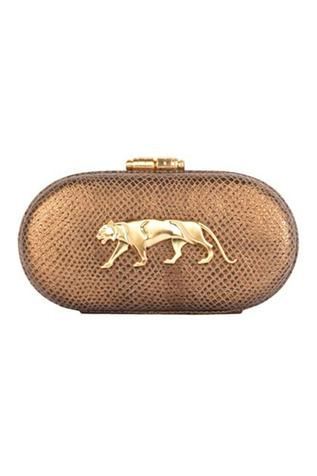 Royal Bengal Tiger Capsule Clutch