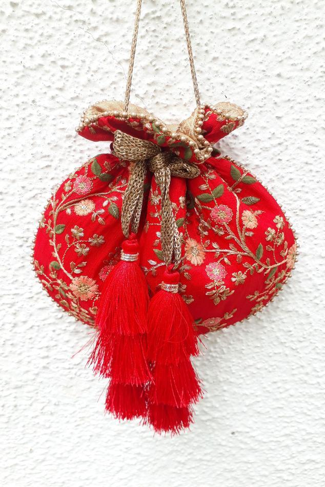 Handcrafted Embroidered Potli Bag