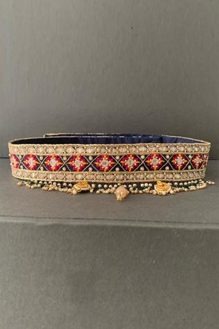 Handcrafted Silk Tassel Belt