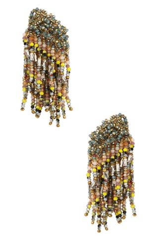 Bead Statement Earrings
